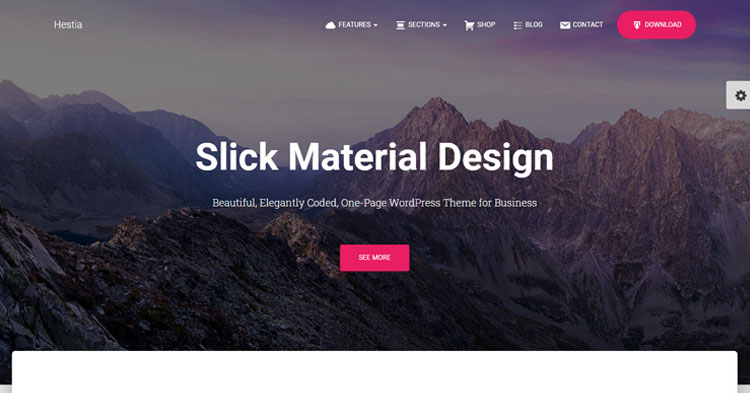 Hestia Pro One Page Theme Download