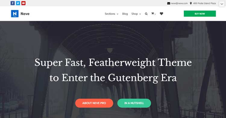 Neve Pro WordPress Theme