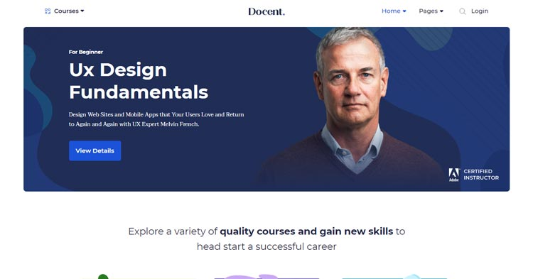 Download Docent Pro Solo Teacher WP LMS Theme Now!